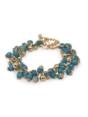 globus   Globus Gold Clasp Bracelet
