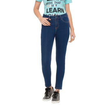 globus | Globus Blue Solid Jeans