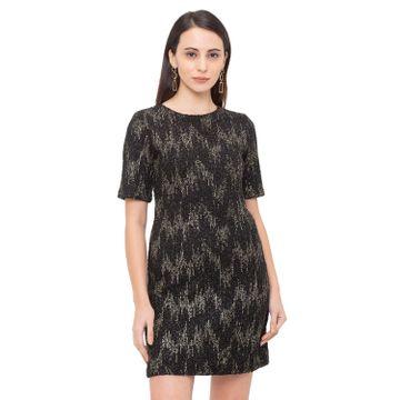 globus | Globus Black Embellished Dress
