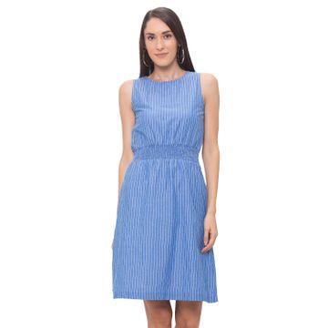 globus | Globus Blue Striped Dress