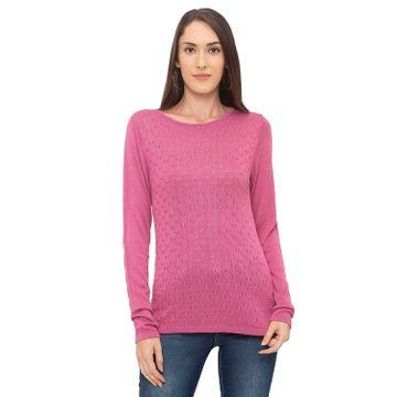 globus | Globus Pink Knit Top
