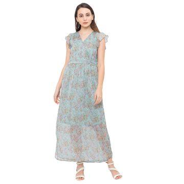 globus | Globus Green Printed Dress