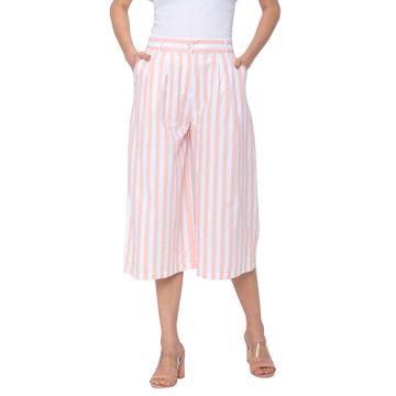 globus | Globus White Striped Trousers