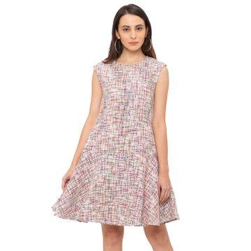 globus   Globus Pink Checked Dress