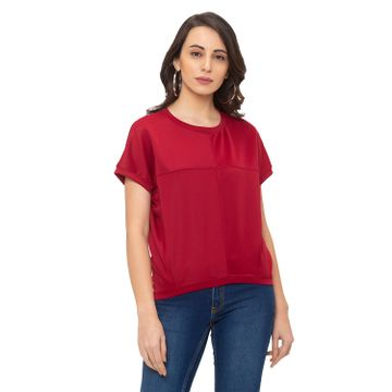globus | Globus Red Solid Top