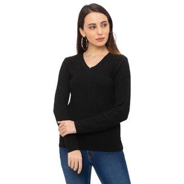 globus | Globus Black Solid T-Shirt