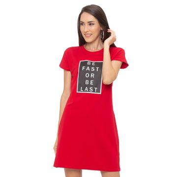 globus | Globus Red Printed Dress
