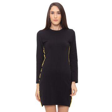 globus   Globus Black Solid Dress