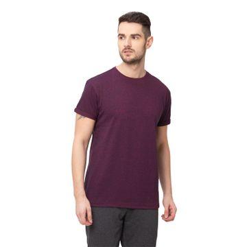 globus | Globus Maroon Solid T-Shirt