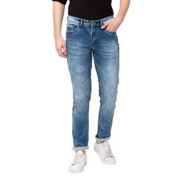 globus | Globus Light Blue Acid Wash Jeans