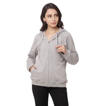 globus | Globus Grey Melange Solid Jacket