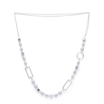 globus | Globus Silver Long Necklace