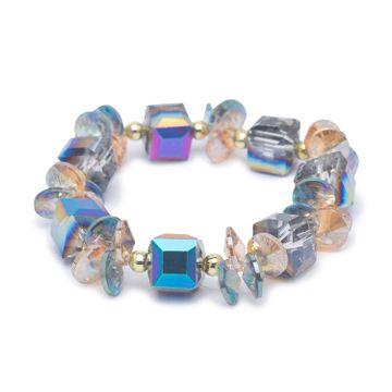 globus | Globus Gold and Multi Clasp Bracelet
