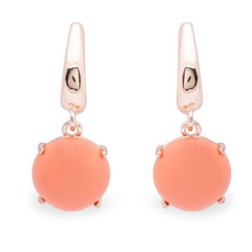 globus | Globus Rose Gold Dangling Stud Earring