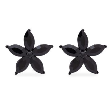 globus | Globus Black Statement Stud Earring