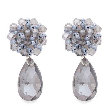 globus | Globus Silver Dangling Stud Earring