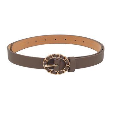 globus | Globus Brown Thick Belt