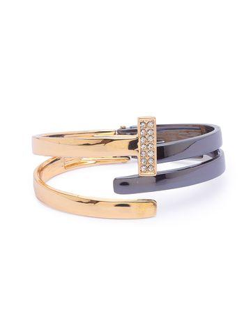 globus   Globus Gold Cuff Bracelet
