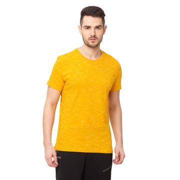 globus | Globus Yellow Solid T-Shirt