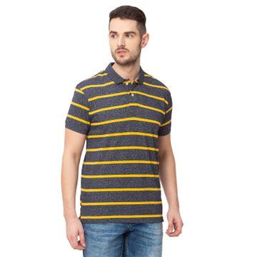 globus   Globus Grey Striped T-Shirt