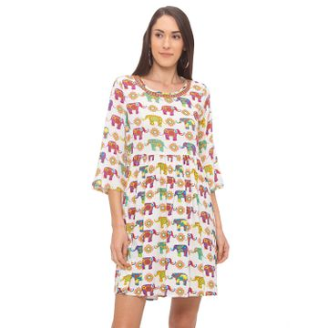 globus | Globus Multi Printed Dress