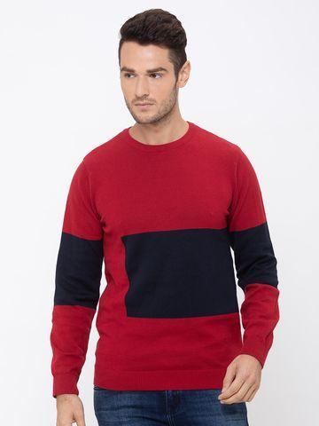 globus   Globus Red Solid T-Shirt