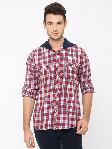 globus | Globus Red Checked Shirt