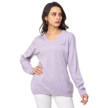 globus | Globus Lilac Solid Sweater