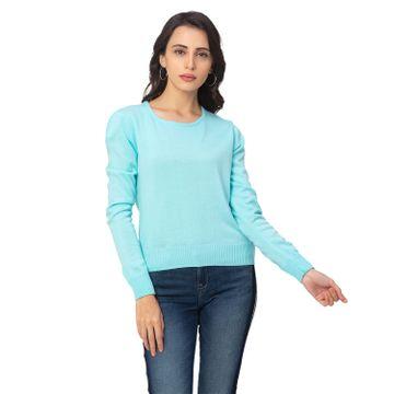 globus | Globus Blue Solid Sweater