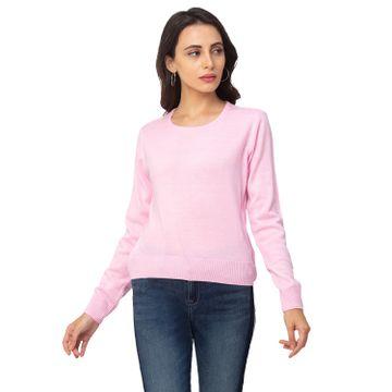 globus | Globus Pink Solid Sweater