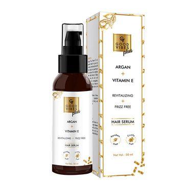 Good Vibes | Good Vibes Plus Argan + Vitamin E - Revitalizing + Frizz Free Hair Serum (50 ml)