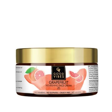 Good Vibes | Good Vibes Nourishing Face Cream - Grapefruit (50 g)