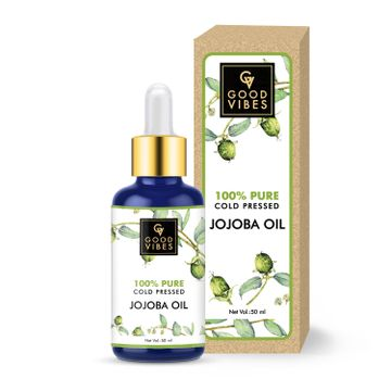 Good Vibes | Good Vibes 100% Pure Cold Pressed Carrier Oil For Hair & Skin - Jojoba (50 ml)