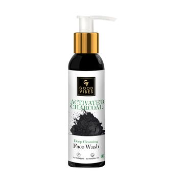 Good Vibes | Good Vibes Deep Cleansing Face Wash - Activated Charcoal (200 ml)