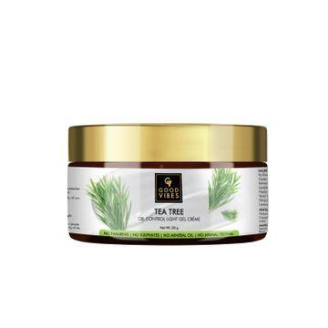 Good Vibes | Good Vibes Oil Control Light Gel Cream - Tea Tree (50 g)