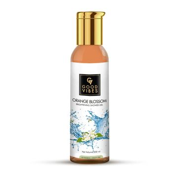 Good Vibes | Good Vibes Brightening Shower Gel (Body Wash) - Orange Blossom (200 ml)