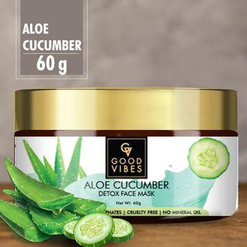 Good Vibes | Good Vibes Detox Face Mask - Aloe Cucumber (60 g)