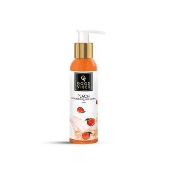 Good Vibes | Good Vibes Nourishing Face Wash - Peach (120 ml)
