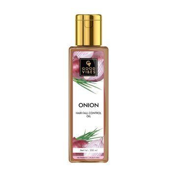Good Vibes | Good Vibes Onion Hairfall Control Hair Oil (200 ml)