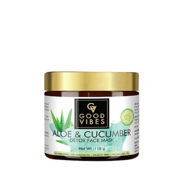 Good Vibes | Good Vibes Detox Face Mask - Aloe & Cucumber (110 g)