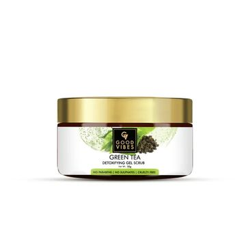 Good Vibes | Good Vibes Detoxifying Gel Scrub - Green Tea (50 g)