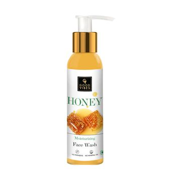Good Vibes | Good Vibes Moisturizing Face Wash - Honey (120 ml)
