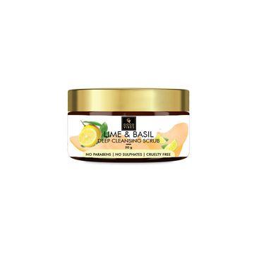 Good Vibes | Good Vibes Deep Cleansing Face Scrub - Lime & Basil (50 g)