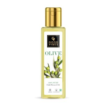 Good Vibes | Good Vibes 100% Pure Olive Carrier Oil Cold Pressed(200 ml)