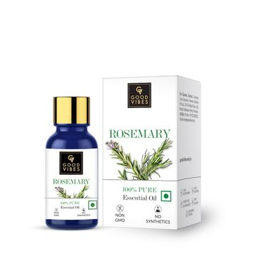 Good Vibes | Good Vibes 100% Pure Rosemary Essential Oil(10 ml)