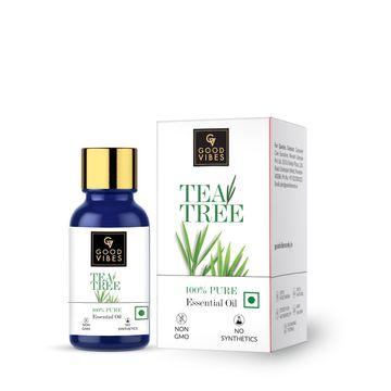 Good Vibes | Good Vibes 100% Pure Tea Tree Essential Oil(10 ml)