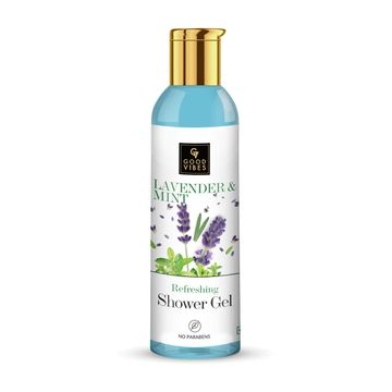 Good Vibes | Good Vibes Refreshing Shower Gel - Lavender & Mint (200 ml)