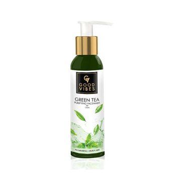 Good Vibes | Good Vibes Purifying Face Wash - Green Tea (120 ml)