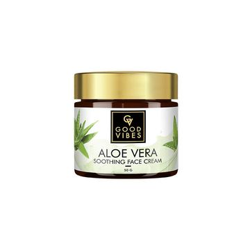 Good Vibes | Good Vibes Soothing Face Cream - Aloe Vera (50 g)