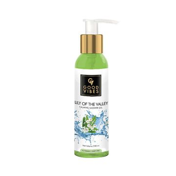 Good Vibes | Good Vibes Calming Shower Gel (Body Wash) - Lily of the Valley (200 ml)